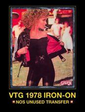 DS 70s OLIVIA NEWTON John Travolta Grease Movie Country Rock vTg t-shirt iron-on