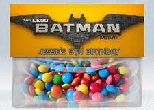 Lego Batman Movie Personalized Birthday Treat Bag Topper (Printable)