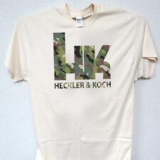 HK, 2nd Amendment,Heckler & Koch, Camo Logo,T-SHIRT SHIRT T-1007 Ivy,L@@K