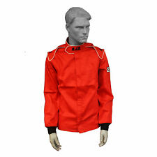 """RJS RACING EQUIPMENT """"ELITE"""" FIRE SUIT 3.2A/1 JACKET SIZE 2X XXL RED 200400407"""