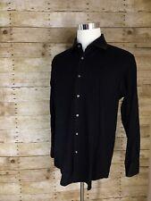 Hugo Boss Black Formal Career Striped  LS 17 36/37 Button Front Shirt D1