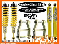 NISSAN D40 NAVARA ARCHM4X4 / COIL SPRING 2INCH 50mm SUSPENSION LIFT KIT