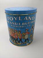 Vintage Toyland Peanut Butter Tin
