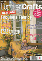 POPULAR CRAFTS Magazine April 1996