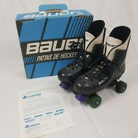 Vintage Bauer Turbo Roller Skates Quads Original 90's Size Mens UK 9