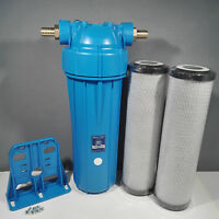 Koi Pond Water Filter For Fish Pond Chlorine Removal Dechlorinator 2x Filters K6