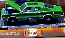 M2 Machines Detroit Muscle 1969 Plymouth Barracuda 340 Metallic Green 1/64 Scale