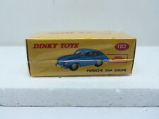 Atlas Dinky Toys No 182 Porsche 356A Coupe in Blue - New in Sealed Box
