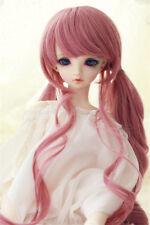 "7-8"" 1/4 BJD Wig Pink Hair Dal BJD SD LUTS DOD Dollfie Doll Wig 168"
