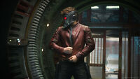 Men's Chris Pratt Guardians of the Galaxy Star lord/Peter Quill Synthetic Jacket