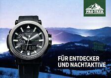 Casio Pro Trek Uhrenkatalog 2017 D Prospekt Uhren catalog watches montres