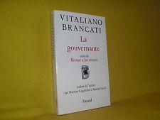 La gouvernante suivi de retour à la censure par Vitaliano Brancati