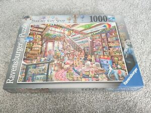 Ravensburger - 1000 PIECE JIGSAW PUZZLE - Fantasy Toy Shop - Sealed - Free P&P