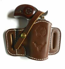 CHOCOLATE WESTERN ON-THE-BELT HOLSTER for BOND ARMS DERRINGERS