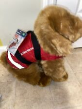 West Marine New Pet Life Jacket size XS With Plush Puppy Dog Real Life Jacket