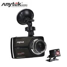Anytek G66 1080P super full HD ADAS DWR HDR Double Lens