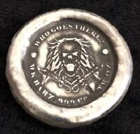 """.75 Ozt MK BarZ /""""The Maiden Voyage/""""-Fractional Round Stamped .999 Fine Silver"""