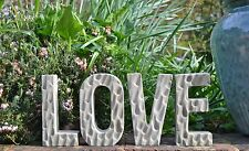 LOVE-Letters-Alphabet-Words-Garden Ornament-Lawn Statue-Stone-Gift