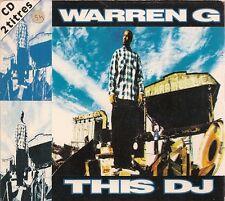 CD SINGLE COLLECTOR--WARREN G--THIS DJ--1994