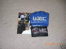 Urijah Faber SIGNED WEC OFFICIAL OUANO GLOVE UFC