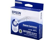 10 X Epson Ruban S015262 LQ-680 Pro original fact. + MwSt sous emballage