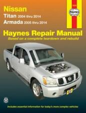 Haynes Workshop Manual Nissan Titan 04-14 Nissan Armada 05-14 Service Repair