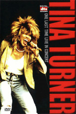 TINA TURNER / One last time live in CONCERT (2000) DVD *NEW