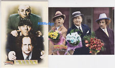 """(2) 2005 BREYGENT """"THE THREE STOOGES"""" PROMO CARD: #P1+P2 PROMOTIONAL SAMPLE LOT"""