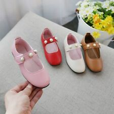 Children Kids Girls Shoes Fall Princess Shoes Students Casual Shoes Single Flats