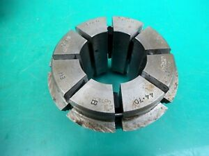 """ENGINEERS CRAWFORD MULTIBORE COLLET T285 E14  1-5/8""""- 1-3/4""""   41.27- 44.70MM"""