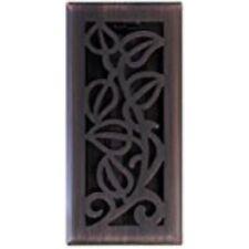 Imperial Manufacturing Rg3279 4 x 10 in. Bronze Vine Floor Register