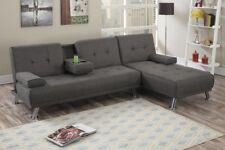 Manhattan Sofa Bed with Chaise (Ash)