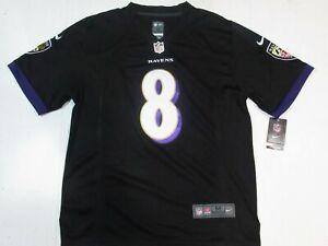 New Lamar Jackson #8 Baltimore Ravens Men's Game Limited Jersey Black
