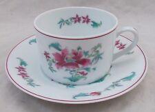 Bernardaud Limoges LHASSA flat teacup and saucer UNUSED