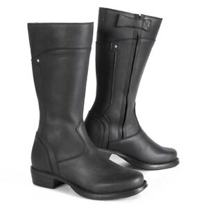 Stylmartin Sharon Ladies Motorcycle Boots - Black - RRP £179 *FAST UK DELIVERY*