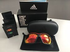 £225 ADIDAS Evil Eye Evo Pro L Cycling Riding Mirrored Sunglasses