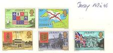 LOT JERSEY TIMBRES NEUFS ** THEME RELIGION EGLISE ECT...
