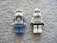 LEGO Star Wars - Rare - Episode 3 Clone Pilot & Clone Trooper - Excellent