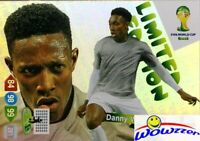 2014 Panini Adrenalyn World Cup EXCLUSIVE Danny Welbeck Limited Edition MINT
