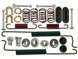 For 2012-2019 Chevrolet Sonic Drum Brake Hardware Kit Rear Centric 54391XT 2013