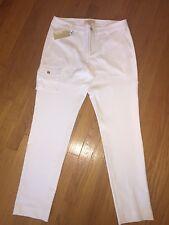 Women's Michael Kors Basics White pants size 8