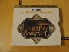 Cream - Live Cream Volume 1 & 2 - MFSL Gold Audiophile CD (2-Discs)