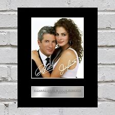 Richard Gere and Julia Roberts Signed Photo Display Pretty Woman