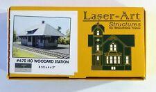 WOODARD STATION, Laser-Art Structures
