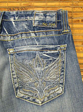 Big Star SWEET W28xL31 Ultra Low Rise Slim Fit Stretch Bootcut Jeans 3WSWWVX