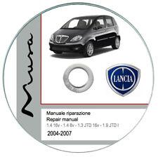 Lancia Musa 2004-2007 manuale officina repair manual su Cd