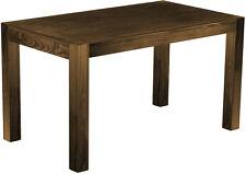 Einmaliges Sonderangebot Esstisch Holz Pinie massiv Tisch Rio Kanto 140x80 Eiche