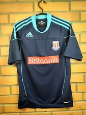 Stoke City formotion jersey small 2010 2011 away shirt soccer football Adidas