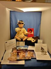 Vintage Sunflower Doll - Danbury Mint - 1998 - Rare All Papers