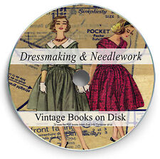Rare Books Dressmaking Dress Design Patterns Cloth Clothes Dummy Sewing DVD 253